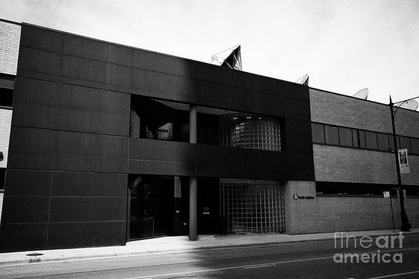 Wall Art - Photograph - Wciu-tv Studios 26 North Halsted Street Chicago Il Usa by Joe Fox