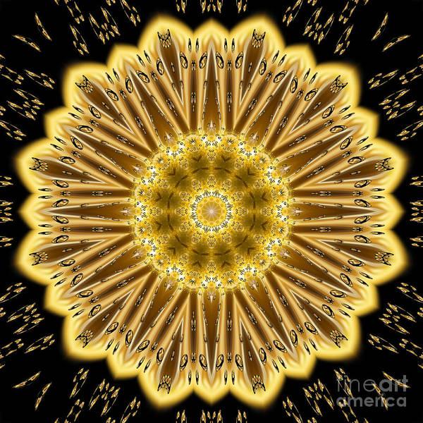 Digital Art - We Are Golden by Rachel Hannah
