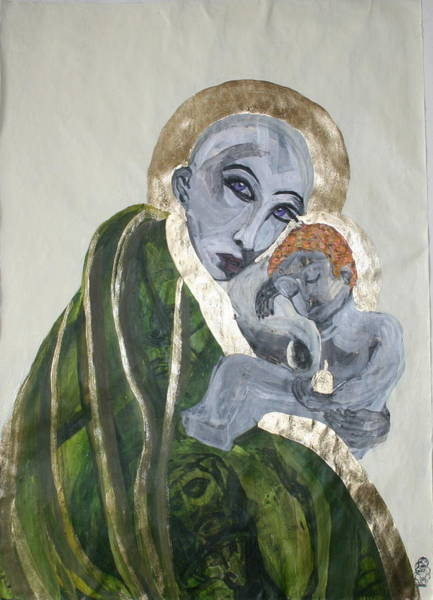 Mixed Media - We Carry Our Inheritance by Siobhan Dempsey