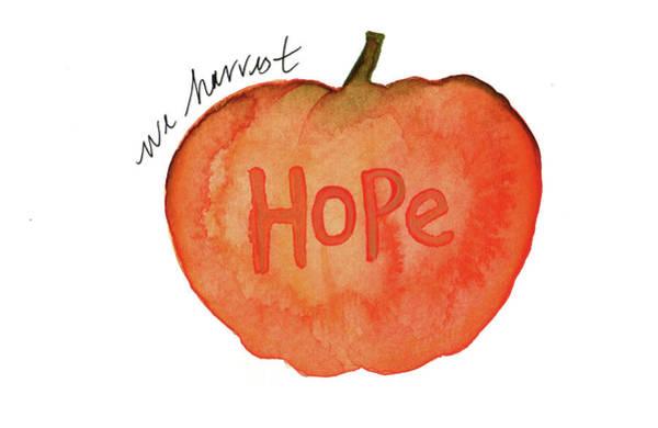 Painting - We Harvest Hope by Anna Elkins