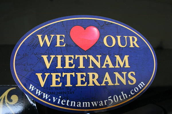 Photograph - We Love Our Vietnam Veterans by Kay Novy