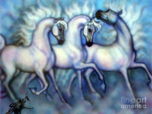 Digital Art - We Three Kings by Stacey Mayer