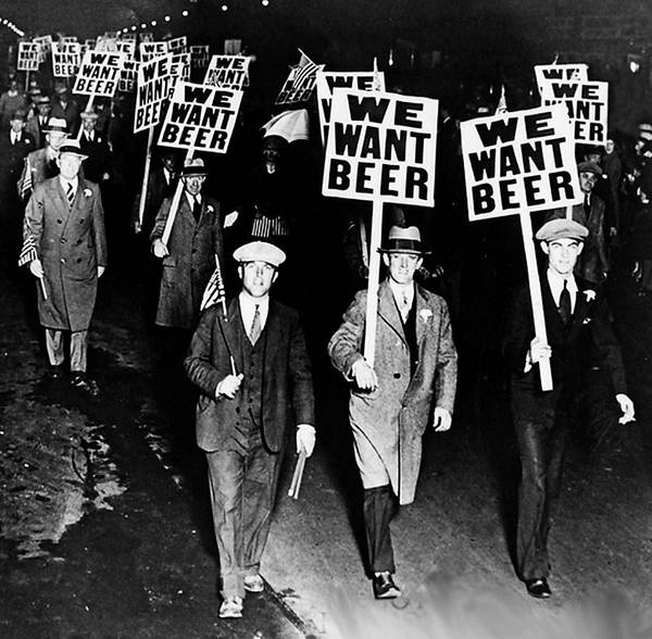 Photograph - We Want Our Beer - Prohibition by Doc Braham
