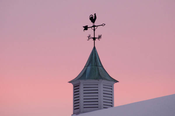 Photograph - Weather Vane At Dawn by Bill Cannon