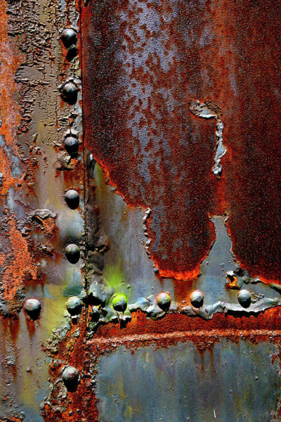 Wall Art - Photograph - Weathered And Rusted Railroad Car by Paul W Faust - Impressions of Light