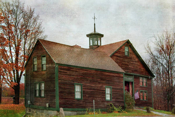 Photograph - Weathered Home In Fall by Joann Vitali