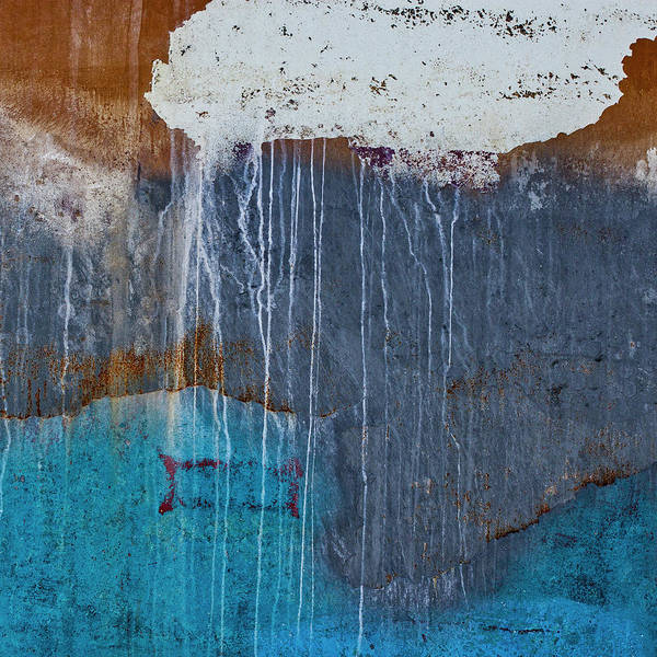 Wall Art - Photograph - Weathered Paint Detail by Carol Leigh