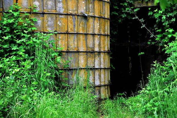 Photograph - Weathered Silo by Jerry Sodorff
