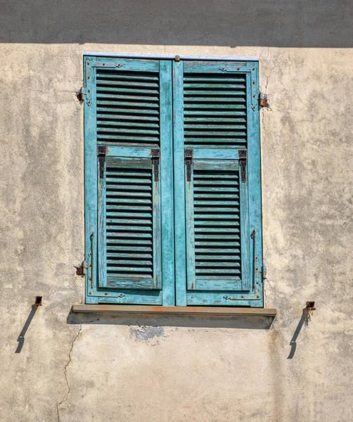 Photograph - Weathered Window Of Cinque Terre by David Letts