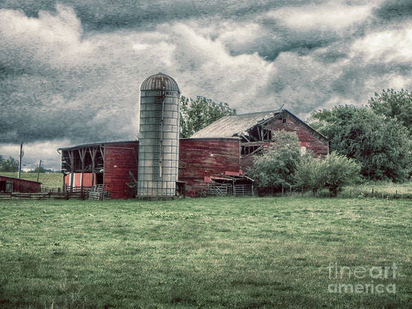 Photograph - Weathered Worn And Standing Strong by Judy Hall-Folde