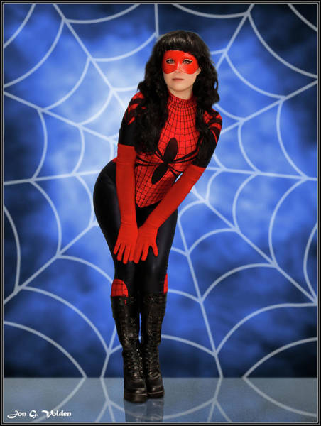 Photograph - Web Of A Spider Woman by Jon Volden