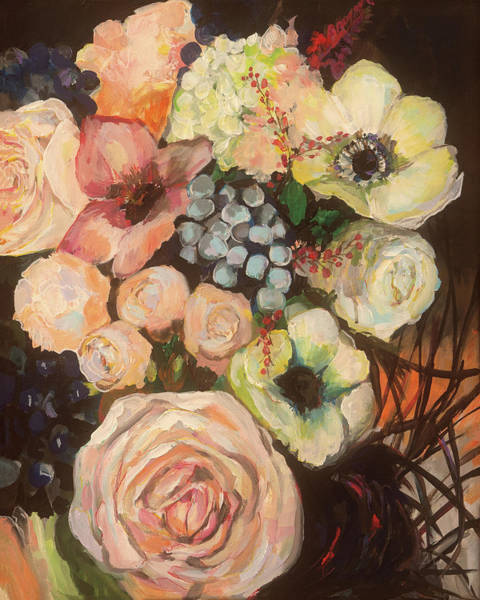 Wall Art - Painting - Wedding Bouquet by Jeanette Vertentes