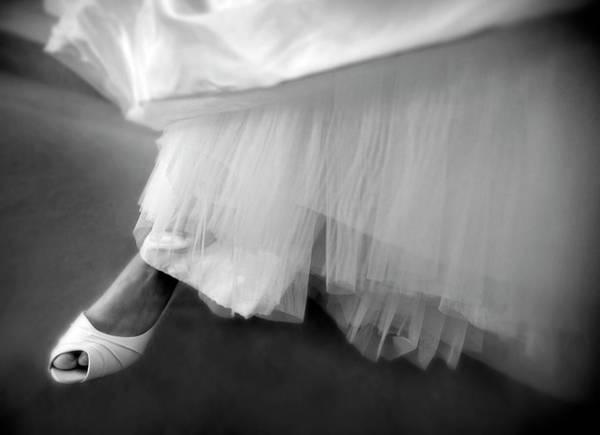 Dress Fitting Photograph - Wedding Dress Fitting by Carlos Ortiz