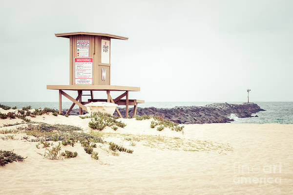 Wall Art - Photograph - Wedge Lifeguard Tower W In Newport Beach California by Paul Velgos