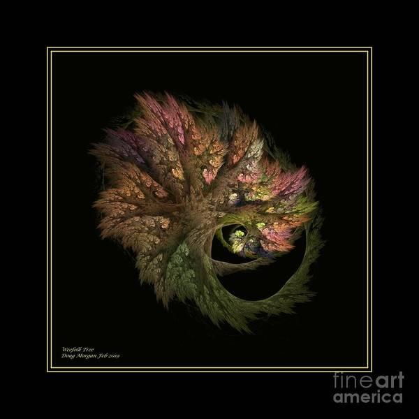 Digital Art - Weefolk Tree by Doug Morgan