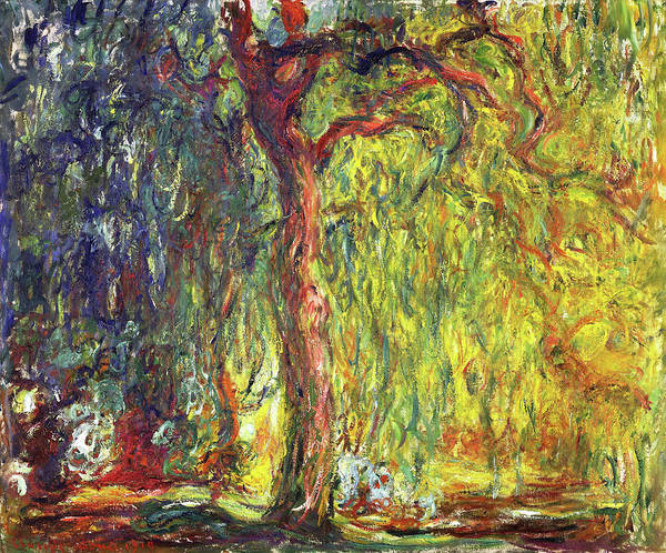 Weeping Willow Wall Art - Painting - Weeping Willow - Digital Remastered Edition by Claude Monet