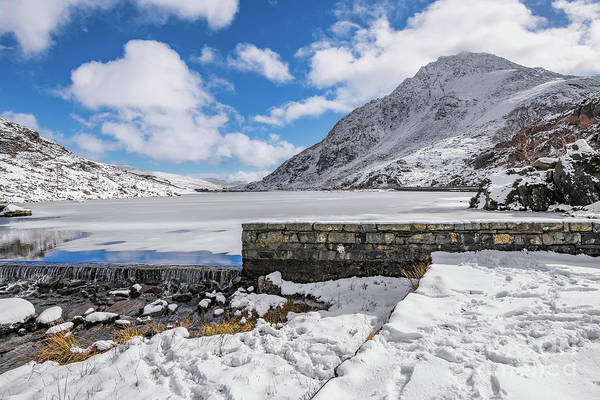 Wall Art - Photograph - Weir At Ogwen Lake by Adrian Evans