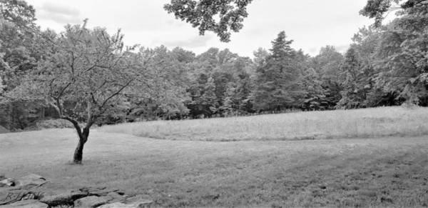 Photograph - Weir Farm Open Fields B W by Rob Hans