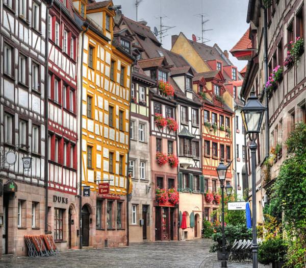 Outdoors Photograph - Weissgerbergasse, Nuremberg by Habub3