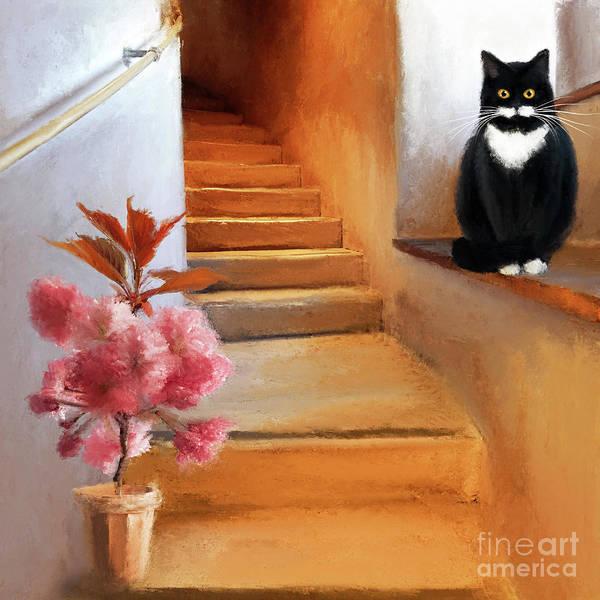 Digital Art - Welcome Home by Anne Vis