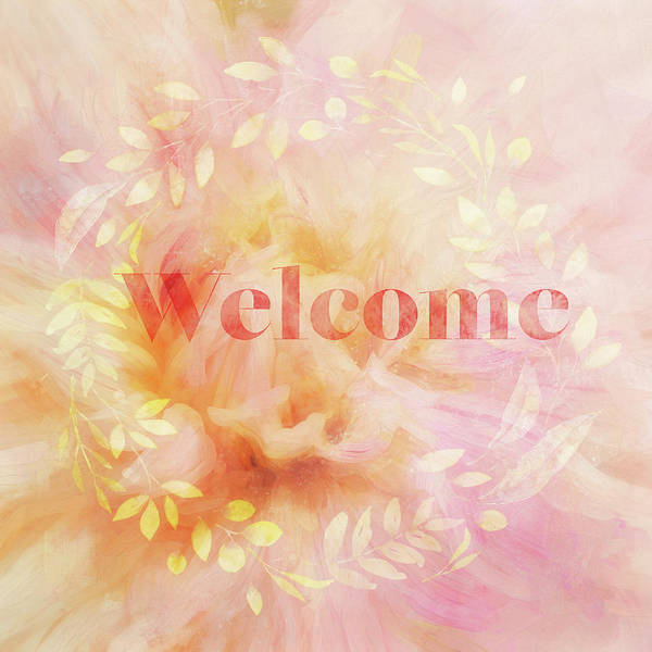 Welcome Sign Digital Art - Welcome by Terry Davis