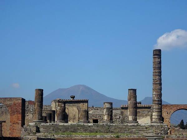 Wall Art - Photograph - Welcome To Ancient Pompeii by Lyuba Filatova