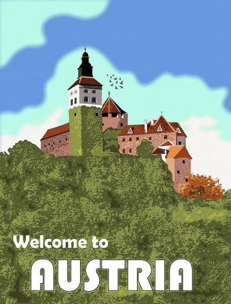 Wall Art - Digital Art - Welcome To Austria by Long Shot