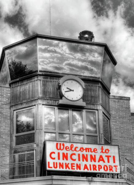 Photograph - Welcome To Cincinnati Selective Color by Mel Steinhauer