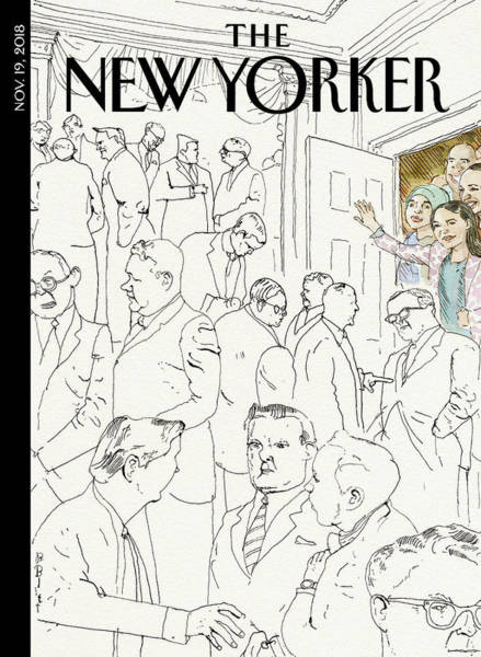 Group Of People Drawing - Welcome To Congress by Barry Blitt