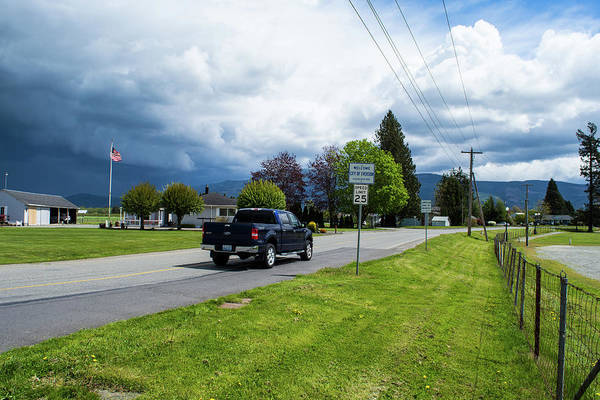 Photograph - Welcome To Everson by Tom Cochran