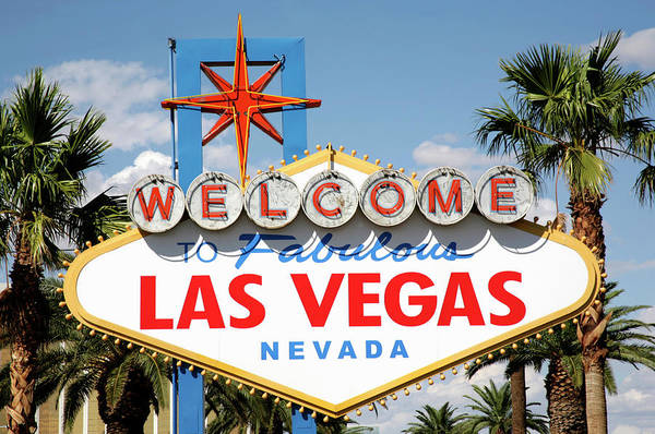 Kitsch Photograph - Welcome To Fabulous Las Vegas Sign, Las by Hisham Ibrahim