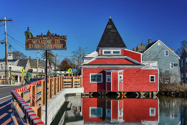 Photograph - Welcome To Kennebunkport by Guy Whiteley