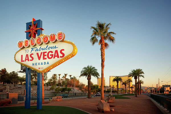 Wall Art - Photograph - Welcome To Las Vegas Sign IIi by Ricky Barnard
