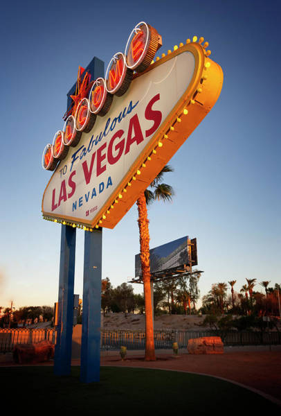 Wall Art - Photograph - Welcome To Las Vegas Sign Iv by Ricky Barnard