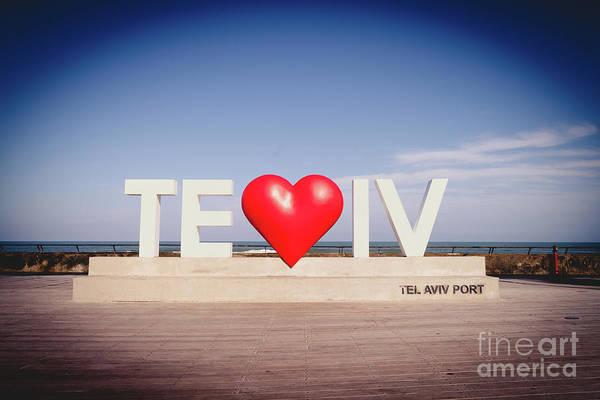Photograph - Welcome To Tel Aviv Port by PorqueNo Studios