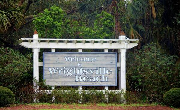 Photograph - Welcome To Wrightsville Beach by Cynthia Guinn