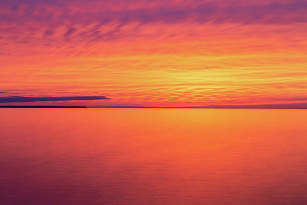 Photograph - Welcker's Point Sunset by Paul Schultz