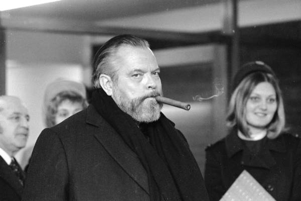 Scriptwriter Photograph - Welles At Heathrow by Central Press