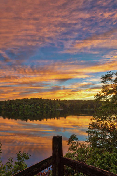 Photograph - Wellesley College Sunset by Juergen Roth