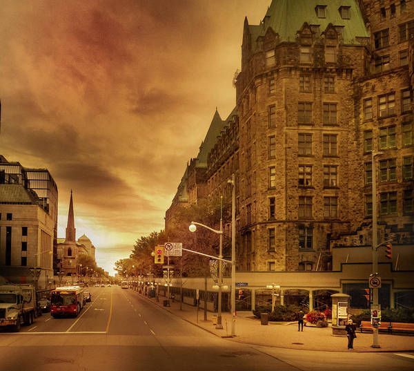 Photograph - Wellington St - Ottawa by Juan Contreras