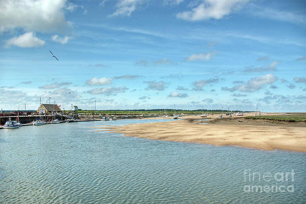 Wall Art - Photograph - Wells Harbour by John Edwards