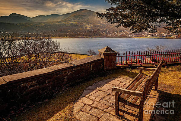 Wall Art - Photograph - Welsh Lake Viewpoint by Adrian Evans