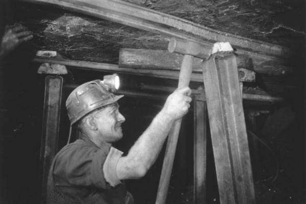 Miners Photograph - Welsh Miner by Haywood Magee