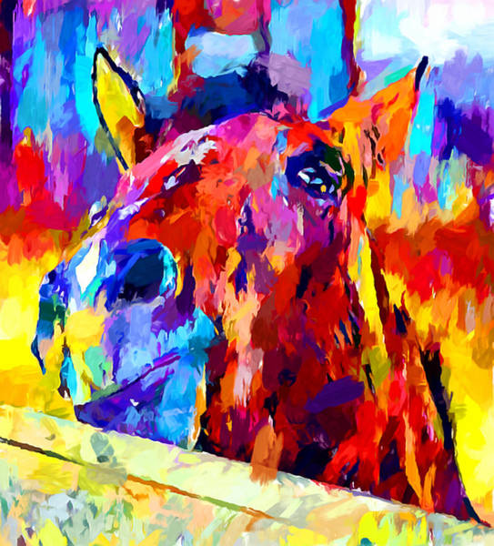 Wall Art - Painting - Welsh Pony by Chris Butler