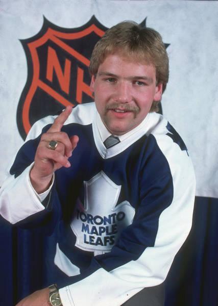 Nhl Photograph - Wendel Clark, Maple Leafs 1 Pick by B Bennett