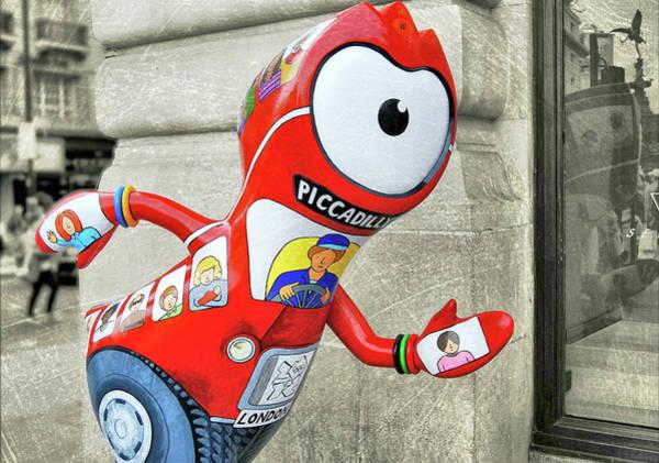 Photograph - Wenlock London Olympic Mascot by JAMART Photography