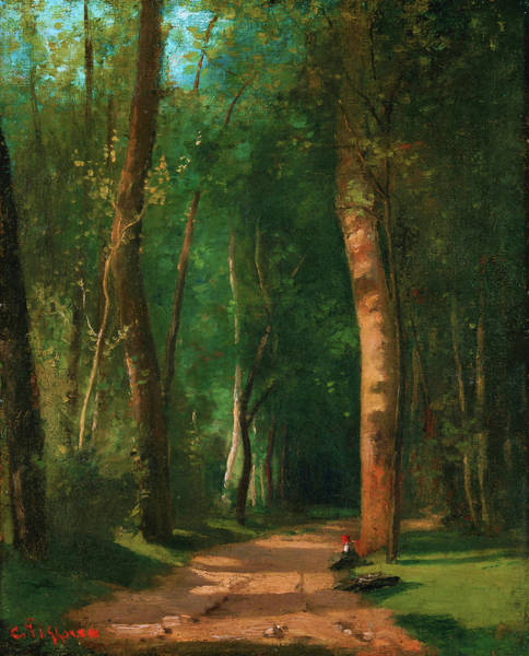 Wall Art - Painting - Went Into A Forest - Digital Remastered Edition by Camille Pissarro