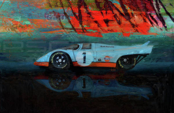 Le Mans Mixed Media - We're Number 1 by Alan Greene