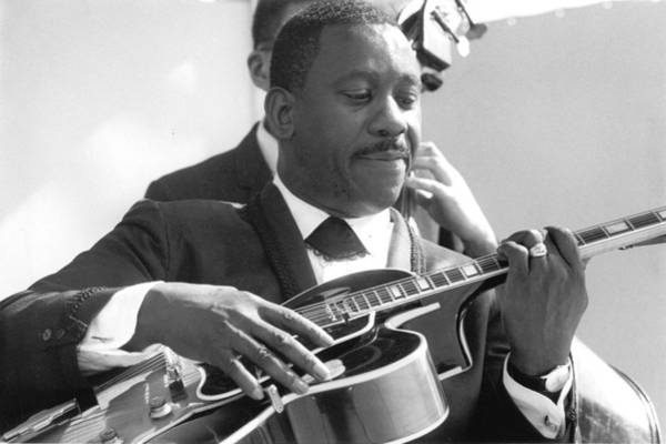 Guitarist Photograph - Wes Montgomery Performing by Ted Williams