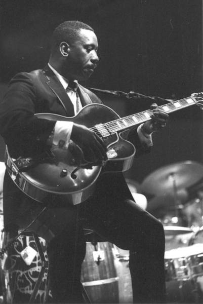 Guitarists Photograph - Wes Montgomery Performing by Tom Copi